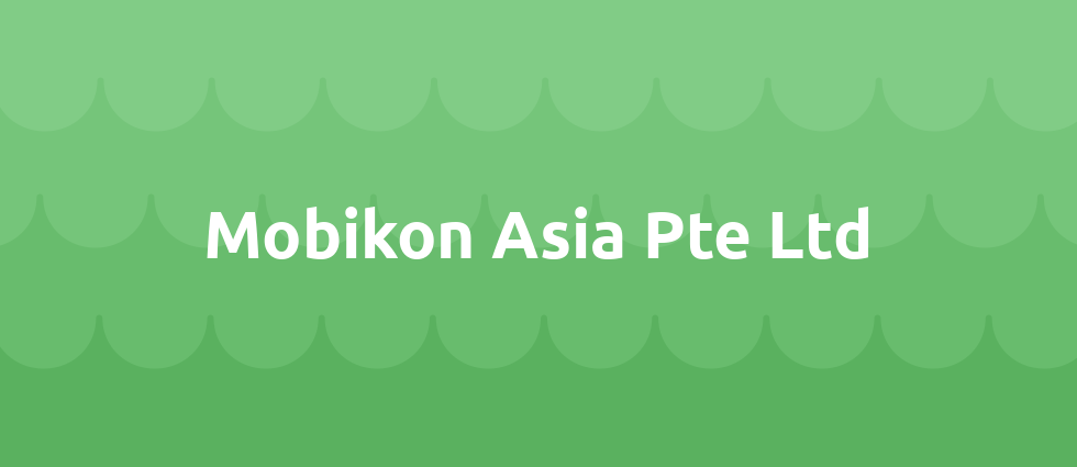 Mobikon Asia Pte Ltd cover