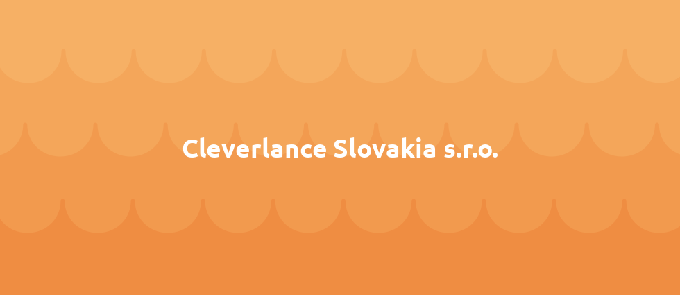 Cleverlance Slovakia s.r.o. cover