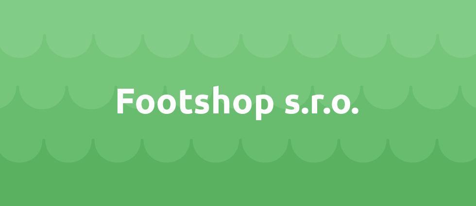 Footshop s.r.o. cover