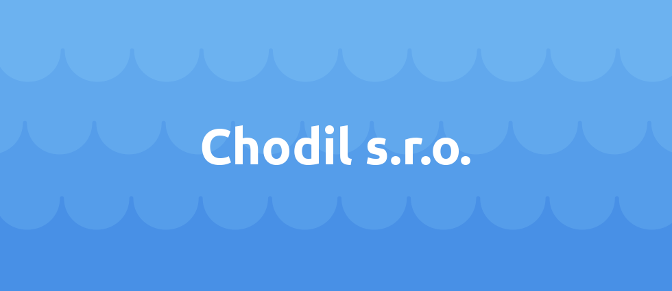 Chodil s.r.o. cover