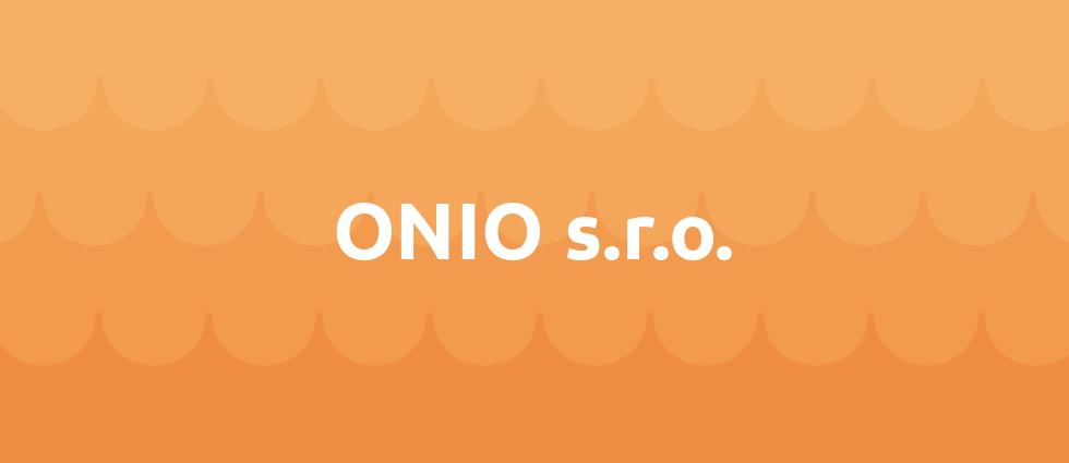 ONIO s.r.o. cover