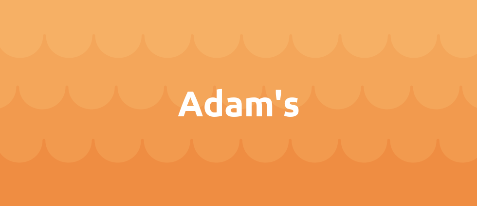 Adam's cover