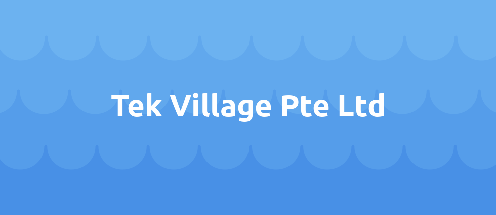 Tek Village Pte Ltd cover